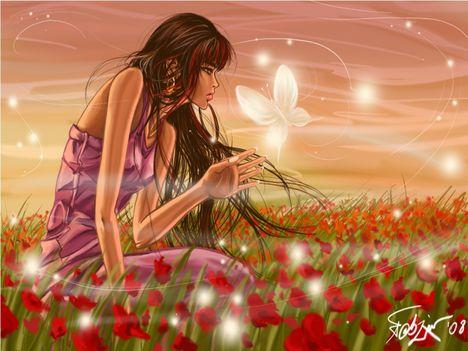 Virágos rét.