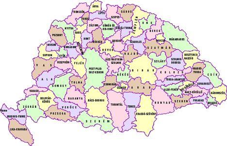 Magyarország megyéi 1920-ban