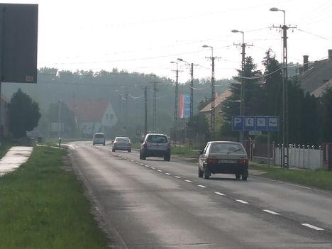 1-es főút Gönyű, 2010.05.21. 07:00 3