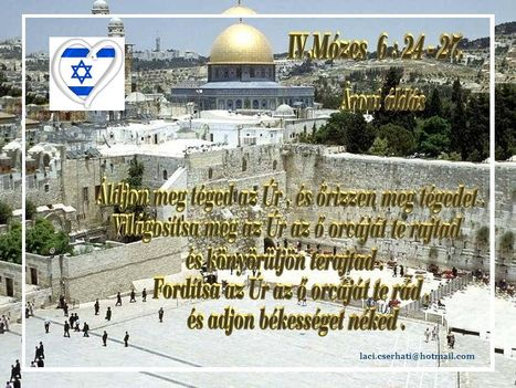 IV.Mózes 6 24-27.
