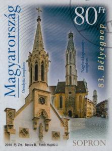 Sopron bélyegen