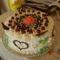 Újra egy Fekete-erdő torta(egy 8 éves szülinapos kislány részére)