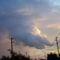 Zsolt. 18,10 Lehajtotta [Ésa. 19,1.] az eget és leszállt, és homály volt lábai alatt.