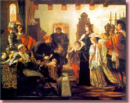 Madarász Viktor - Zrínyi Ilona a vizsgálóbíró előtt
