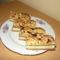 piskótatalléros sütemény