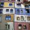Wien, Hundertwasser Haus, Facade