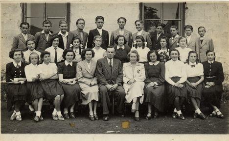 8 általános csoportkép 1954