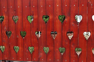 fa kerítés minták 16