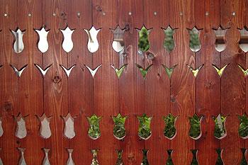 fa kerítés minták 17