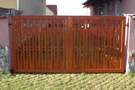 fa kerítés minták 1