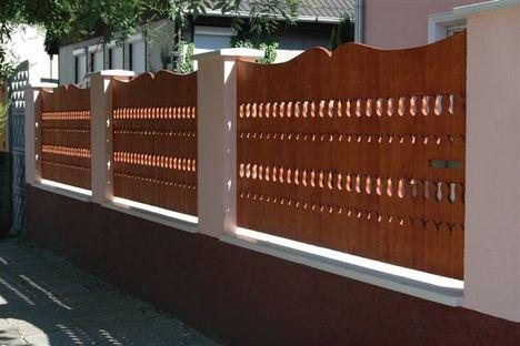 fa kerítés minták 9