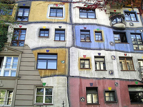 Hundertwasser ház