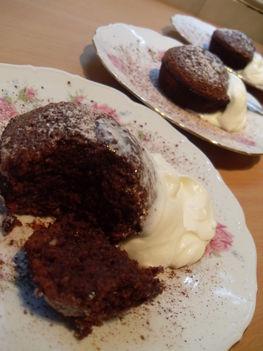 """""""Csokoládés bűnök"""" muffin"""