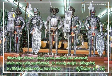 Efézius 6-16.