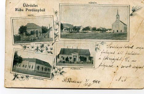 Régi képeslap 1900-ból