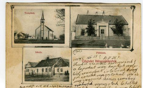 régi képeslap az 1910-es évekből