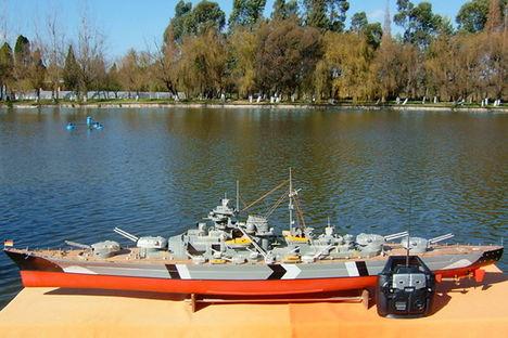 Bismarck - rc modell