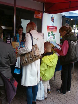 Vörösmarty téri könyvvásár 2010 júniusban