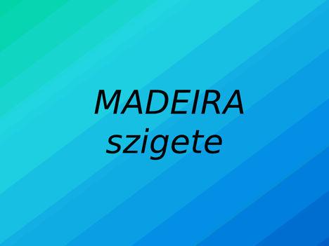 Madeira szigete 15