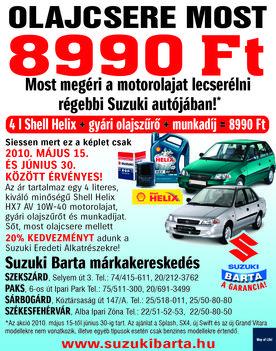 Suzuki Barta akciós ajánlatok 01