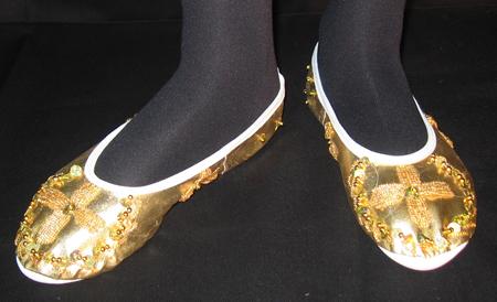 cipő. hastáncosoknak.