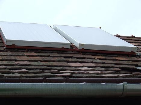 Házi készítésü napkollektor