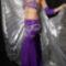 lila_ezüst, komplett hastánc-ruha.
