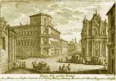 Piazza delle Quatro Fontane