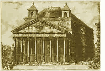 Piranesi_Pantheon