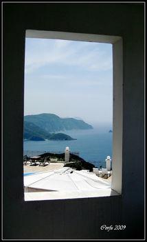 Korfu - Ablak a tengerre
