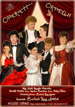 Pegazus Színházunkkal Operett Orfeum
