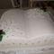 Esküvői torta könyv formába avagy a nagy könyv