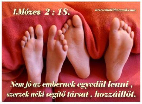 I.Mózes  2 - 18.