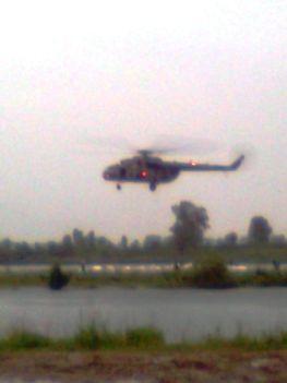 Ongai tónál árvízi védekezés 2010.06.09