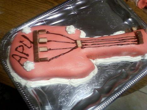 Gitár torta
