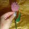 Gyöngyből tulipán 010 kicsi