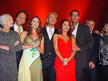 Pancha, Arturo, Maribel, Hector, Rubí, Alejandro, Genaro