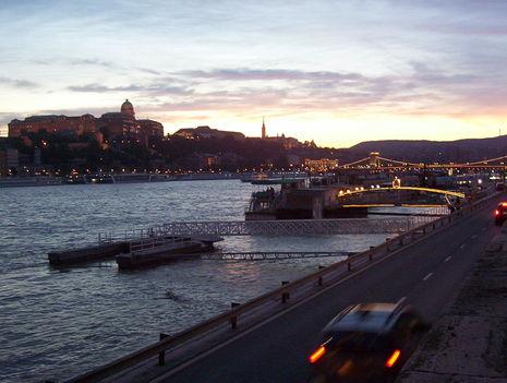 Budapest kora este