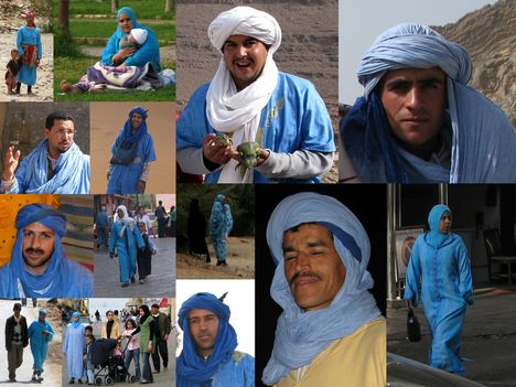 a kék emberek