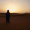 napfelkelte a marokkói sivatagban