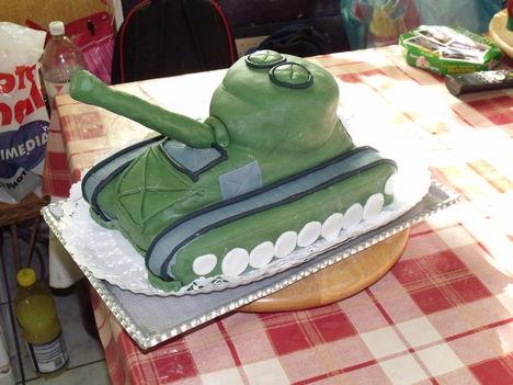Tank torta