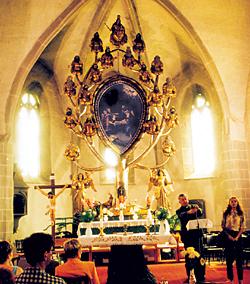 Jessze életfa oltár gyöngyöspata