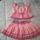 Kétrészes kislány ruha