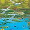 Kornati Nemzeti Park térkép2
