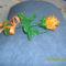 narancs színű rózsa