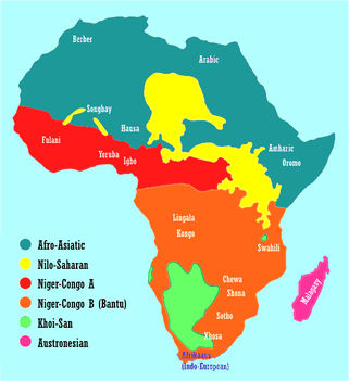 Afrikai nyelvcsaládok