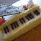 A fiamnak keszult  zongoratorta