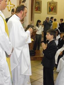 Elsőáldozás Szanyban 2010.05.09