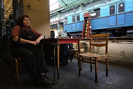 Éva 38 éve műszerész a BKV-nál