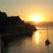 Felkelő nap a Régi erődnél, Korfuváros, Korfu